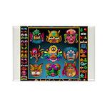 monster face maker Rectangle Magnet (100 pack)
