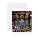 monster face maker Greeting Cards (Pk of 10)