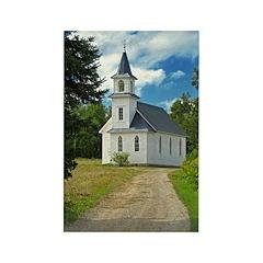Riverside Presbyterian Churc Rectangle Magnet (100