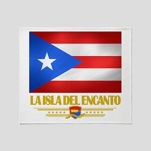 La Isla Del Encanto Throw Blanket