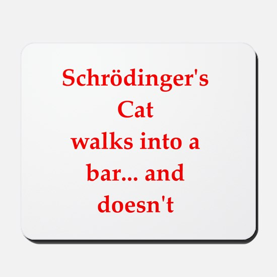 funny science joke Mousepad