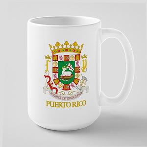 Puerto Rico COA Large Mug