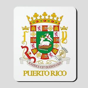 Puerto Rico COA Mousepad