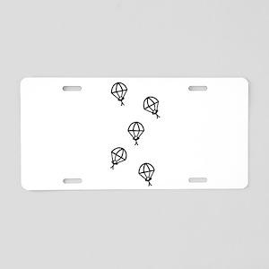 'Skydive' Aluminum License Plate