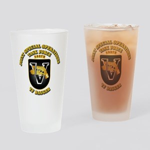 SOF - Task Force Dagger Drinking Glass