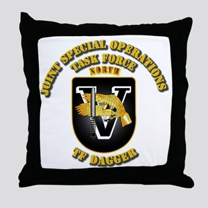 SOF - Task Force Dagger Throw Pillow