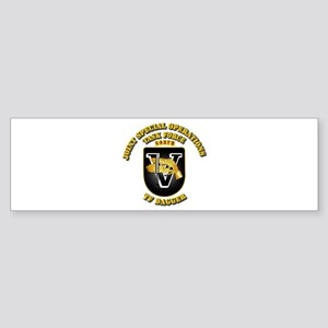 SOF - Task Force Dagger Sticker (Bumper)