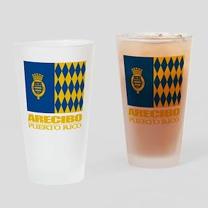 Arecibo Flag Drinking Glass