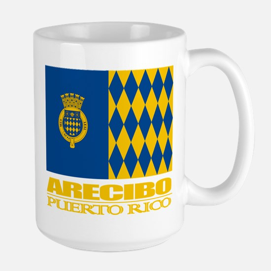 Arecibo Flag Large Mug