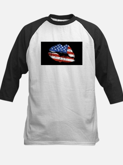 American Kiss Kids Baseball Jersey