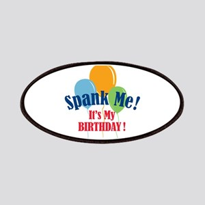 Spank Me Birthday Patches