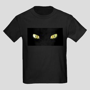 Cat Eyes Kids Dark T-Shirt