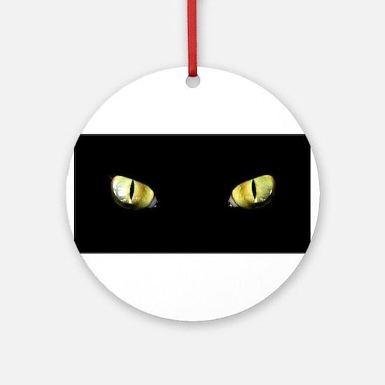 Cat Eyes Ornament (Round)