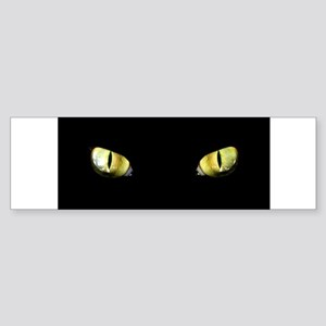 Cat Eyes Sticker (Bumper)