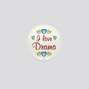 I Love Drama Mini Button