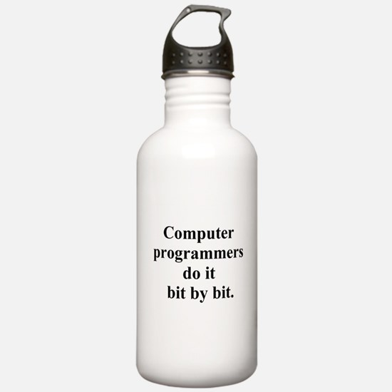computer programmers Water Bottle