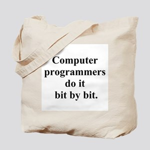 computer programmers Tote Bag