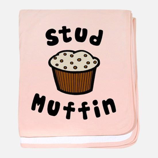 'Stud Muffin' baby blanket