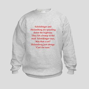 funny science joke Kids Sweatshirt