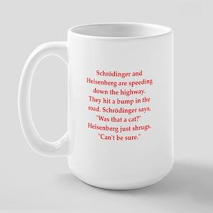 funny science joke Large Mug