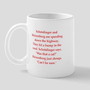 funny science joke Mug