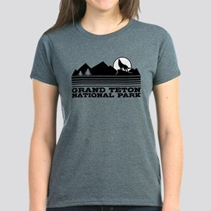 Grand Teton National Park Women's Dark T-Shirt