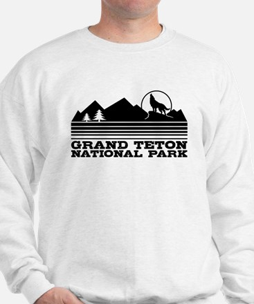 Grand Teton National Park Sweatshirt