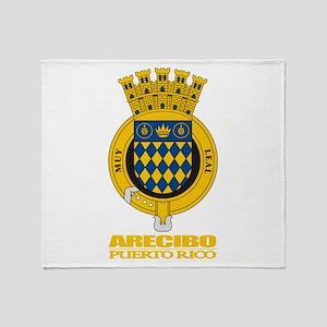 Arecibo COA Throw Blanket