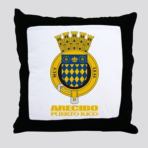 Arecibo COA Throw Pillow