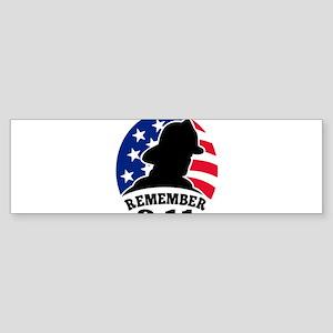 9-11-2001 Sticker (Bumper)