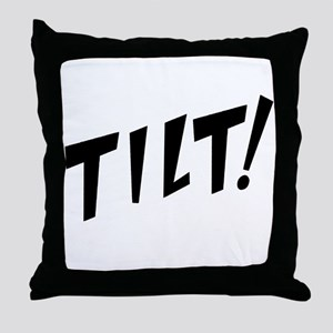 tilt! Throw Pillow