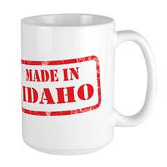 MADE IN IDAHO Large Mug