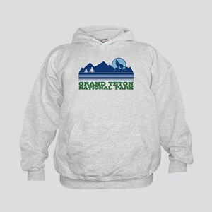 Grand Teton National Park Kids Hoodie