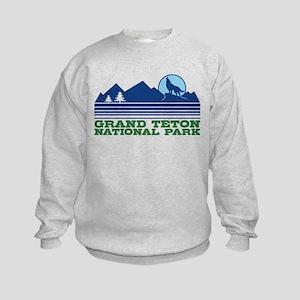 Grand Teton National Park Kids Sweatshirt