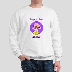 Voy a Ser Abuela Sweatshirt