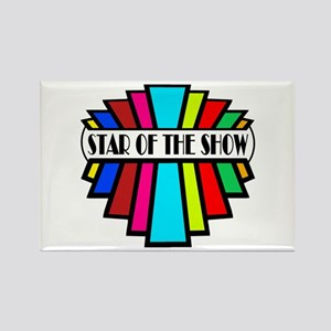 'Star of the Show' Rectangle Magnet