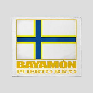 Bayamon Flag Throw Blanket