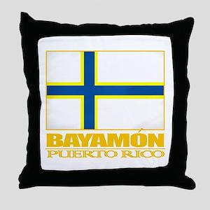 Bayamon Flag Throw Pillow