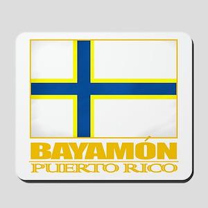 Bayamon Flag Mousepad