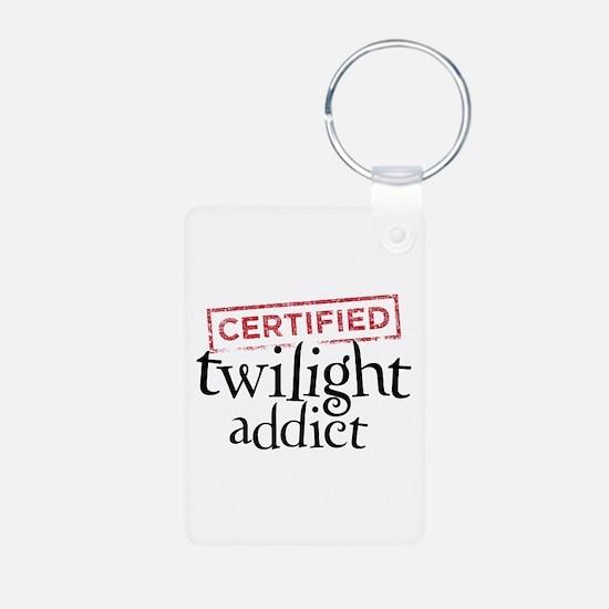 Certified Twilight Addict Keychains