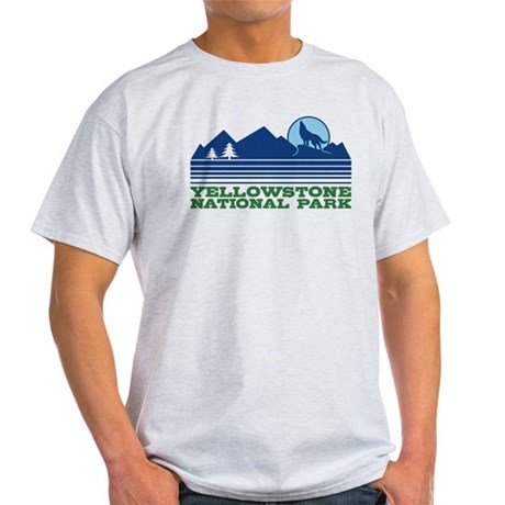 Yellowstone National Park Light T-Shirt