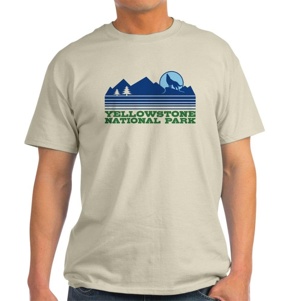 CafePress-Yellowstone-National-Park-Light-T-Shirt-Light-T-Shirt-572336422 thumbnail 4