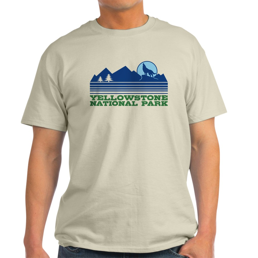 CafePress-Yellowstone-National-Park-Light-T-Shirt-Light-T-Shirt-572336422 thumbnail 11