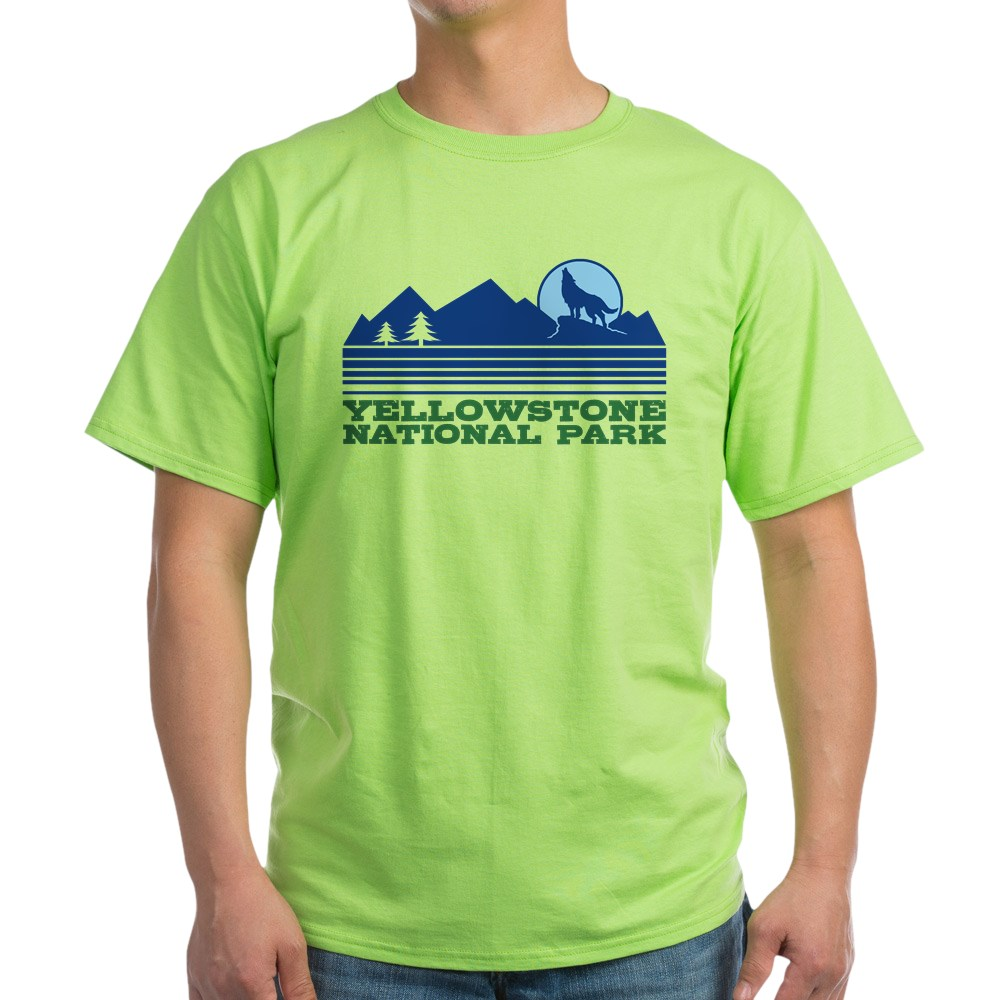CafePress-Yellowstone-National-Park-Light-T-Shirt-Light-T-Shirt-572336422 thumbnail 15