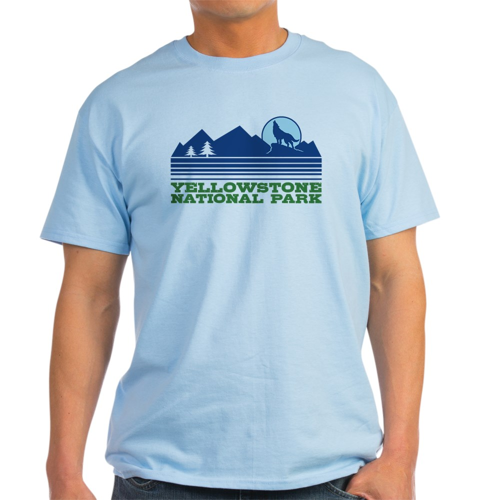 CafePress-Yellowstone-National-Park-Light-T-Shirt-Light-T-Shirt-572336422 thumbnail 33
