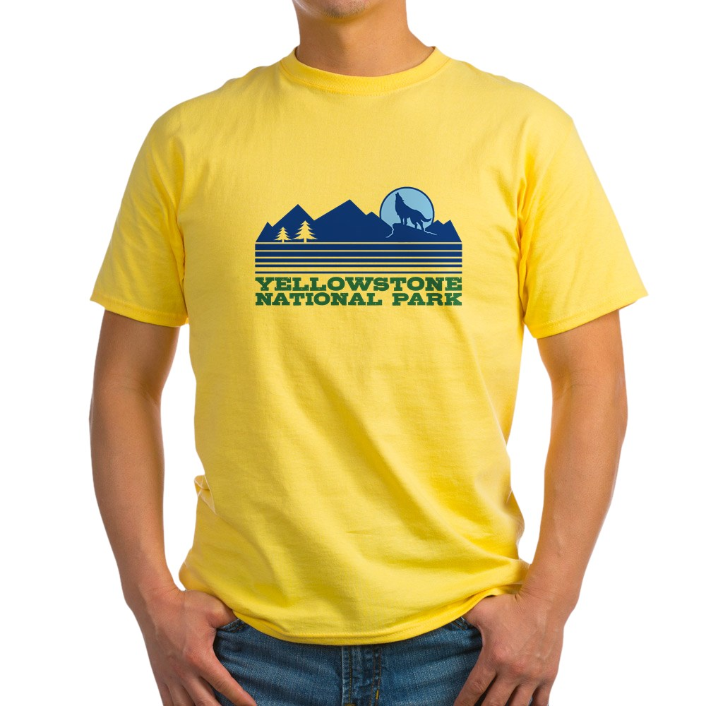 CafePress-Yellowstone-National-Park-Light-T-Shirt-Light-T-Shirt-572336422 thumbnail 57