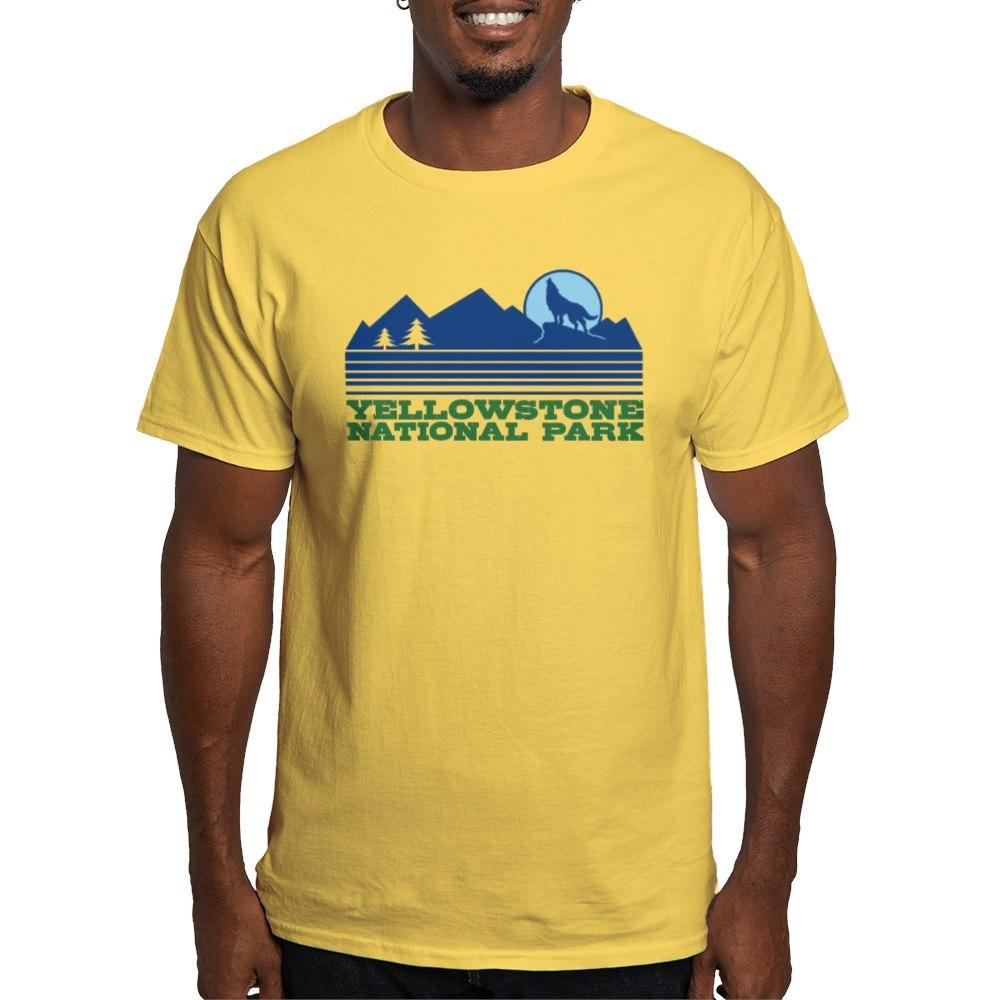 CafePress-Yellowstone-National-Park-Light-T-Shirt-Light-T-Shirt-572336422 thumbnail 61