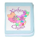 Xinfeng China baby blanket