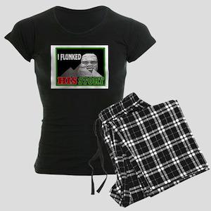 Black history dropout Women's Dark Pajamas