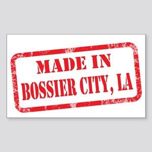 MADE IN BOSSIER CITY, LA Sticker (Rectangle)